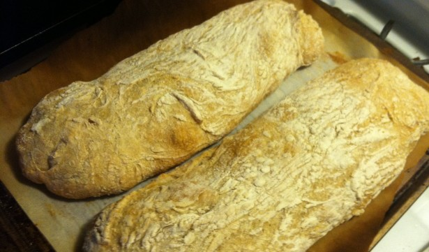A Ciabatta for the Masses! (Stand-up mixer required)