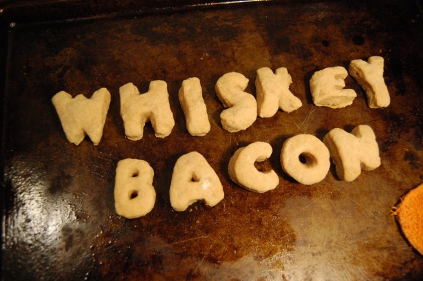 Whiskey Bacon Sugar Cookies