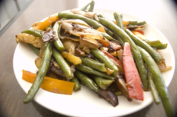 Fresh String Beans and Fingerling Potatoes