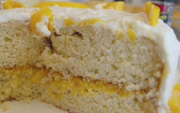 White Mango Cake Recipe