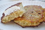 the best potato pancakes with sour cream