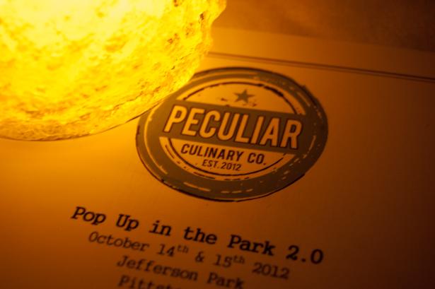 Peculiar Culinary Company Pop Up 2.5