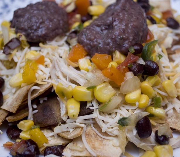 Southwestern Chicken Nacho Recipe