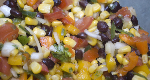 Corn and Black Bean Salsa Recipe