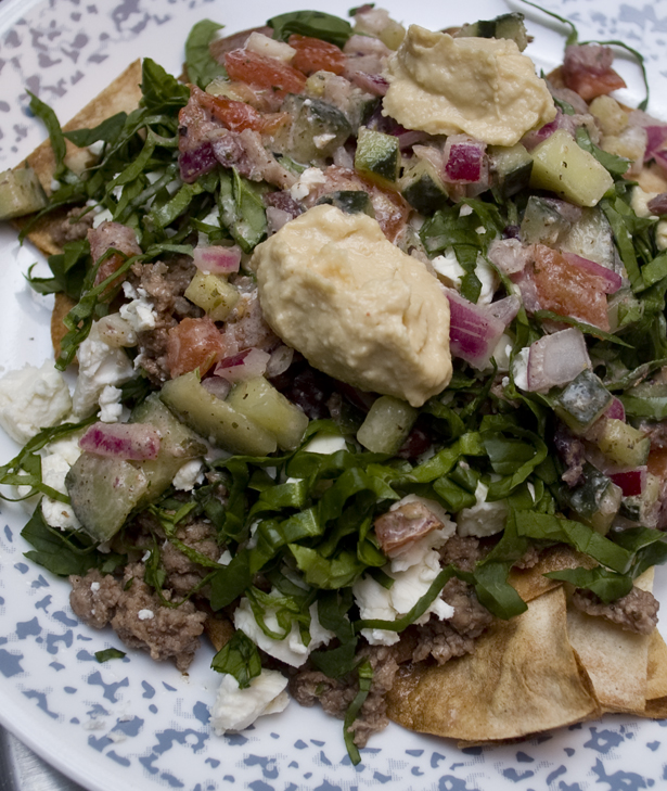 Greek Nachos with Lamb Recipe