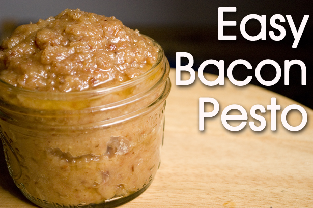 Easy Bacon Pesto Recipe