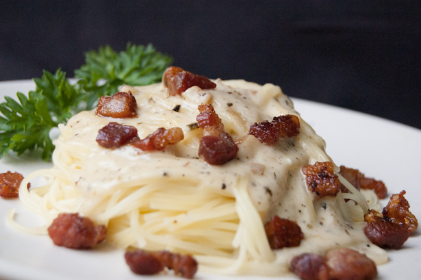 Stovetop Whiskey Bacon Cheese Sauce Recipe